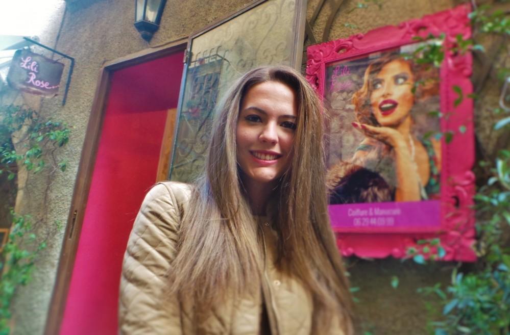 Miss Mougins 2014 chez Lili Rose!